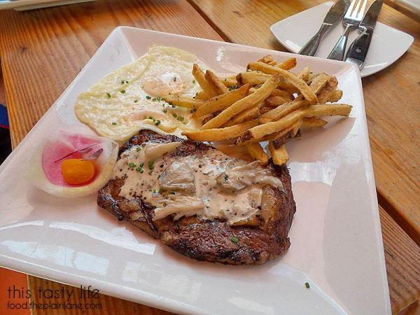 Rib Eye and Eggs Breakfast | Kitchen 4140 - San Diego, CA