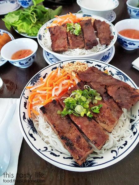 Rice vermicelli BBQ oork bun | Pho Hung Cali - Chula Vista, CA