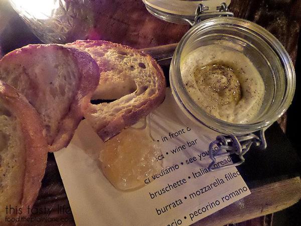 Ricotta, Honey Comb + Grilled Bread | Davanti Enoteca - Del Mar, CA
