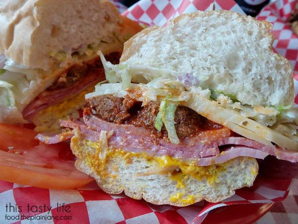 James Special Sandwich at The Grove Grinder Sandwich Shop | Lemon Grove - San Diego, CA