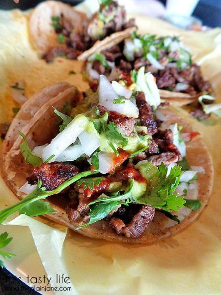 Taco Closeup - El Cilantro Mexican Restaurant   Imperial Beach, CA