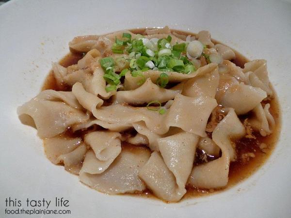 Wide Hand Pulled Noodles with Sesame Sauce | China Mama / Las Vegas, NV