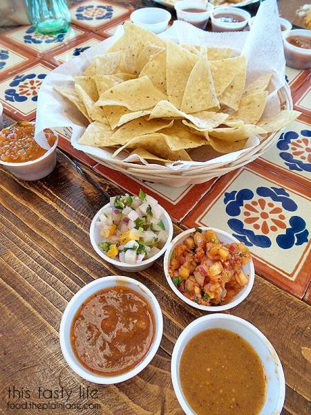 Chips and Salsas | Mama Testa Tacqueria - San Diego, CA
