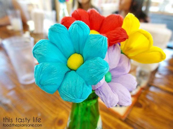 Paper Flowers | Mama Testa Tacqueria - San Diego, CA