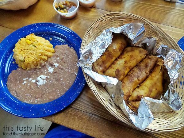 Steamed Potato Tacos | Mama Testa Tacqueria - San Diego, CA