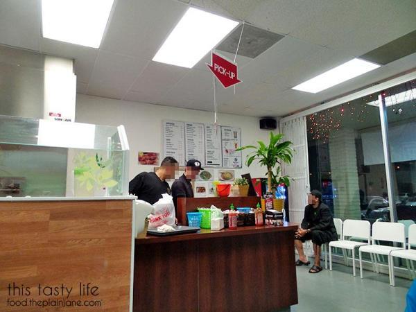Front counter at Wei Wei Asian Express
