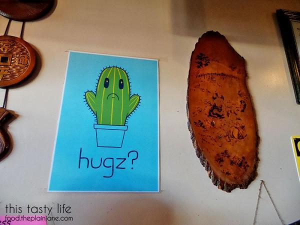 Catcus Hugz Poster | Jeong Won Korean BBQ Buffet - San Diego, CA