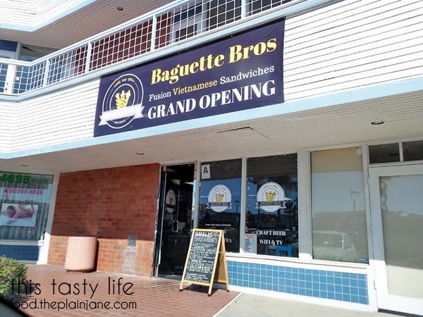 Baguette Bros - San Diego, CA