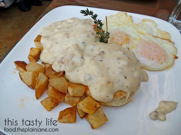Biscuits and Gravy at Jake & Eggs | San Diego - Ocean Beach