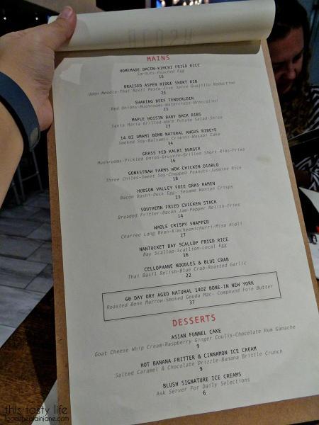 Menu Page 2 - Blush Ice Bar | San Diego, CA