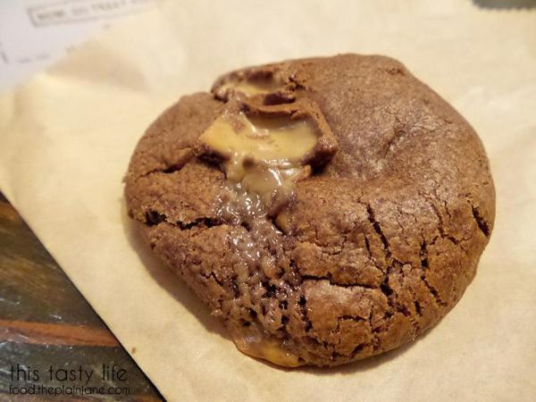 Chocolate Pecan Caramel Cookie at Milk Jar Cookies - Los Angeles, CA