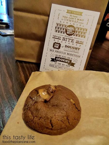 Cookie Flyer / Milk Jar Cookies - Los Angeles, CA