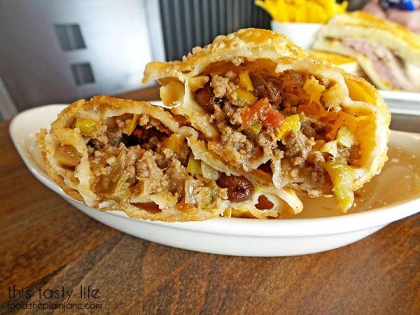 Empanada filling - Havana Grill   San Diego, CA / This Tasty Life