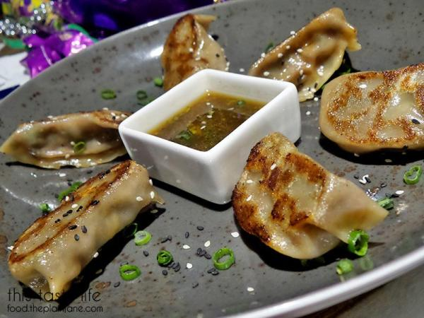 Filet Mignon Potstickers - Blush Ice Bar | San Diego, CA