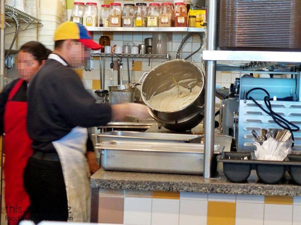 Fresh dough / Viva Las Arepa   Las Vegas   This Tasty Life - http://food.theplainjane.com