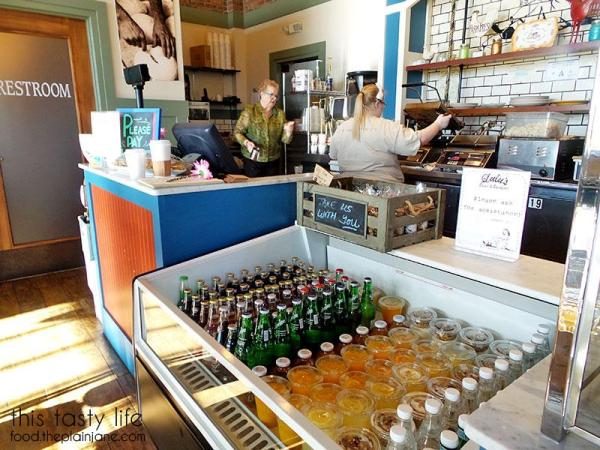 Front counter at Lulu's Bread & Breakfast | Las Vegas, NV | This Tasty Life - http://food.theplainjane.com