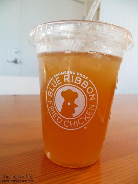 Honey Iced Tea + Lemonade - Blue Ribbon Fried Chicken | Las Vegas | This Tasty Life - http://food.theplainjane.com