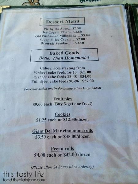 Desserts Menu at The Huddle | San Diego, CA | This Tasty Life - http://food.theplainjane.com