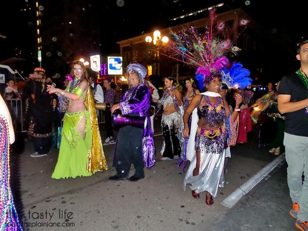 Parade at Mardi Gras San Diego
