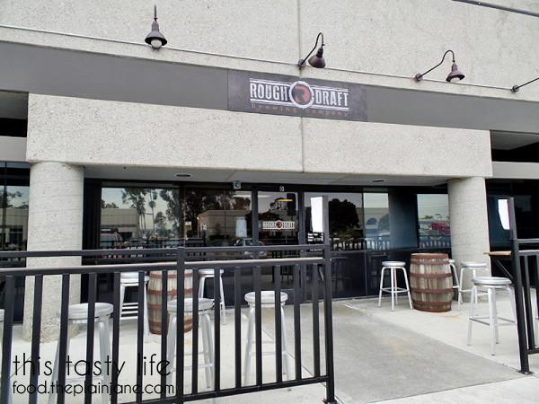 Exterior | Rough Draft Brewing Company - San Diego, CA | This Tasty Life