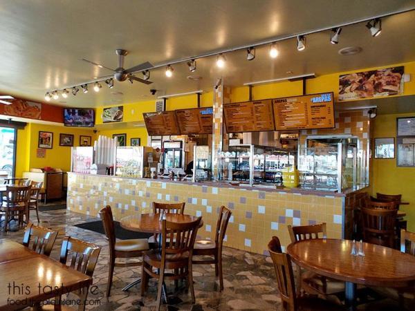Interior / Viva Las Arepa | Las Vegas | This Tasty Life - http://food.theplainjane.com