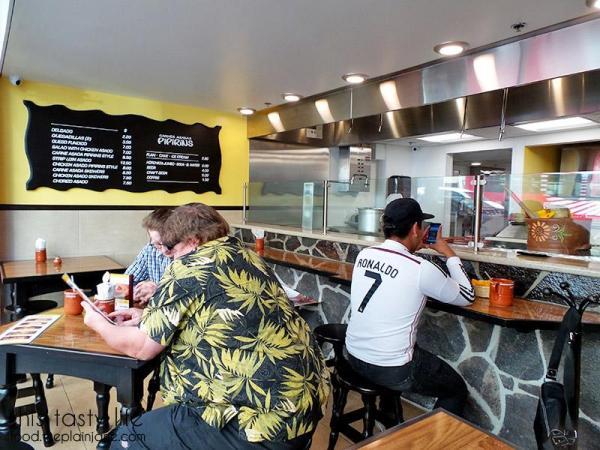 Front dining area at Pipirins | Gaslamp Quarter - San Diego, CA