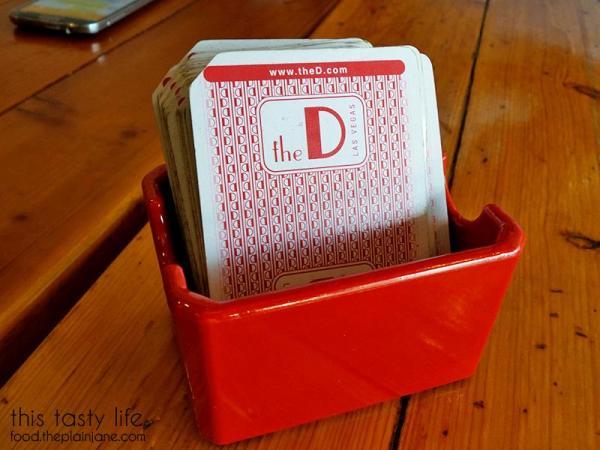 Playing cards | TIABI Coffee & Waffle Bar | Las Vegas, NV