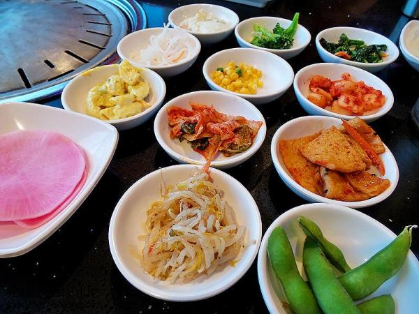 Banchan Side Dishes | Mr BBQ in Fullerton, CA