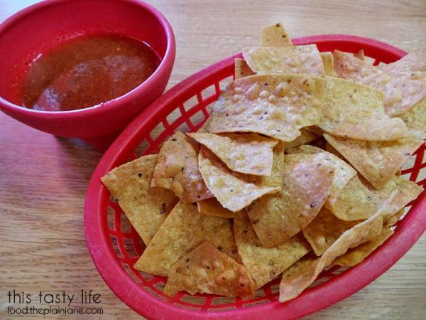 Complimentary Chips and Salsa at Carnitas Uruapan   La Mesa - San Diego, CA   This Tasty Life - http://food.theplainjane.com