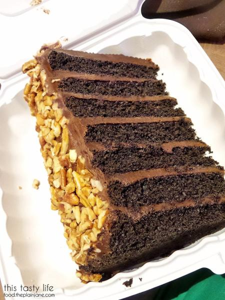 7-Layer Chocolate Fudge Cake at The Cafe at Harrah's Rincon Casino | Valley Center, CA