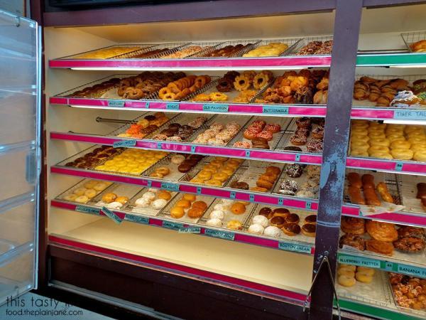 Donut Rack at Modoo Donuts | Buena Park, CA