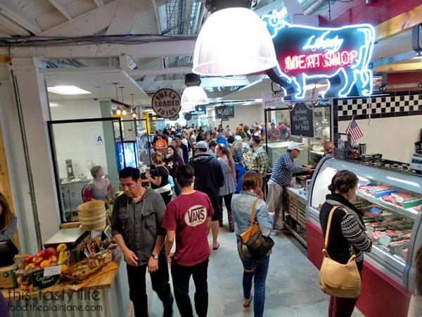 Inside the Liberty Public Market | Libtery Station - San Diego, CA