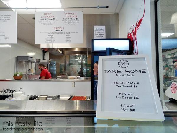 Pasta Design take home pasta at Liberty Public Market | Libtery Station - San Diego, CA
