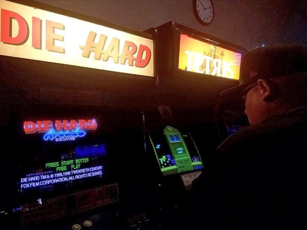 Die Hard and Tetris video games at Brewskis Barcade | Miramar - San Diego, CA