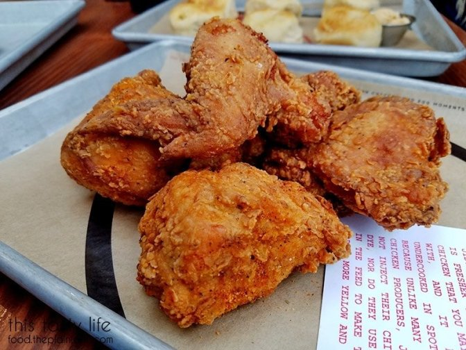 Fried Chicken at The Crack Shack | Little Italy - San Diego, CA