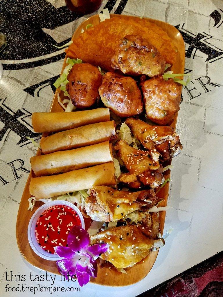 Islander Sampler | Matua's Sushi Bar and Islander Grill - Chula Vista, CA