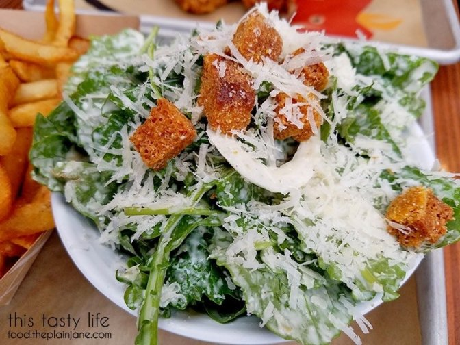 Kale Caesar Salad at The Crack Shack | Little Italy - San Diego, CA