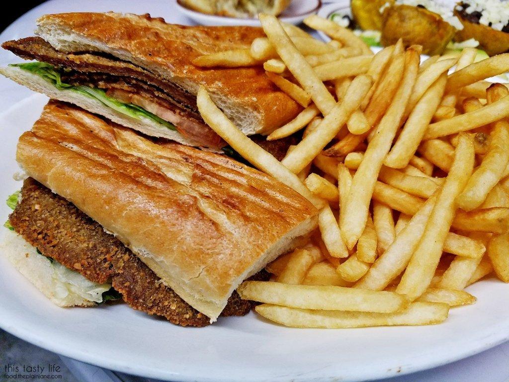 Milanesa Sandwich | Tropical Star Restaurant - San Diego, CA