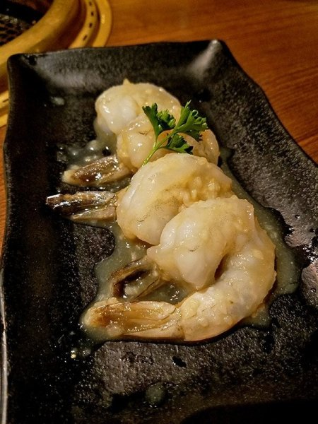 Shrimp for grilling | Gyu-Kaku Japanese BBQ - Scripps Ranch / San Diego, CA