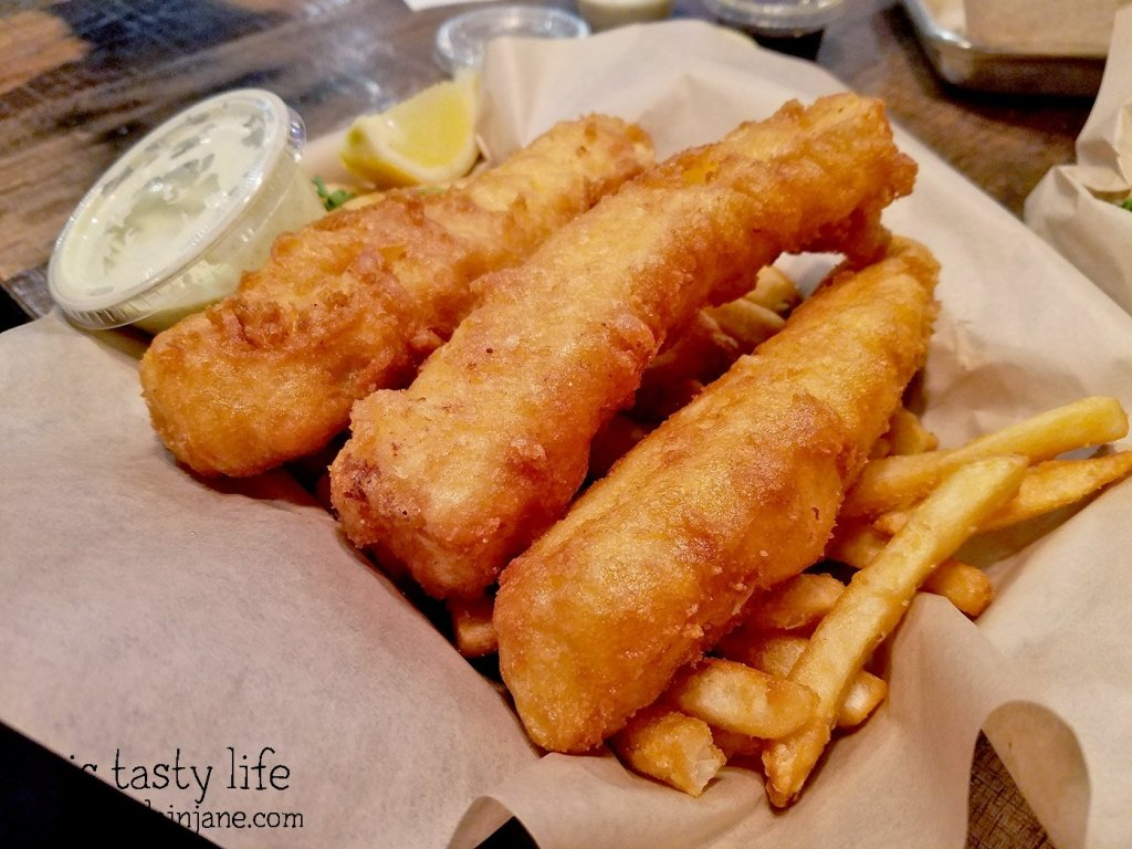 Fish n Chips at Fish District Eatery | San Diego, CA