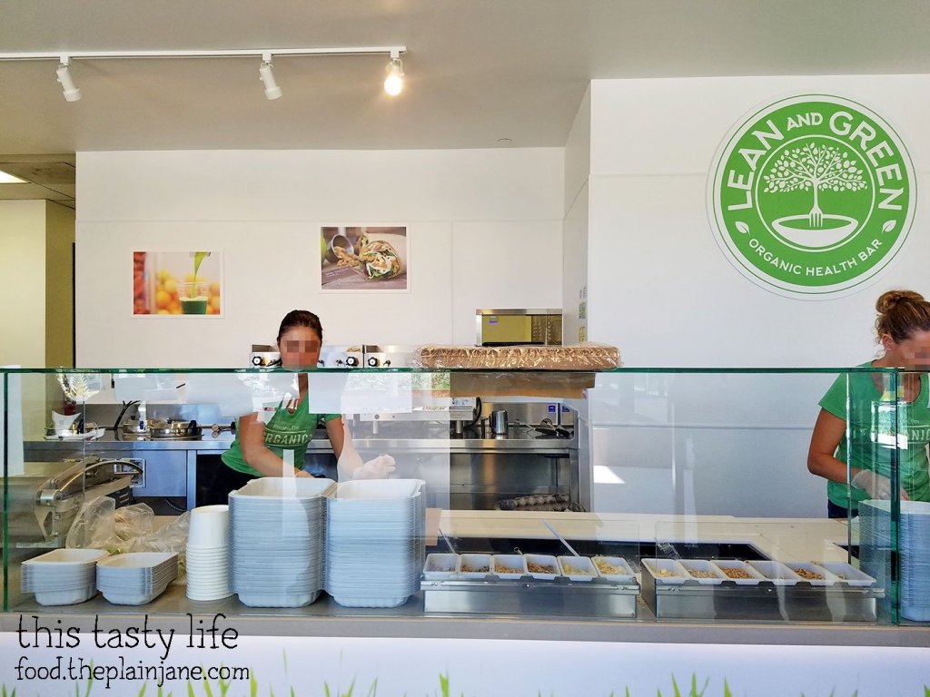 Lean and Green Organic Health Bar - San Diego, Sorrento Valley