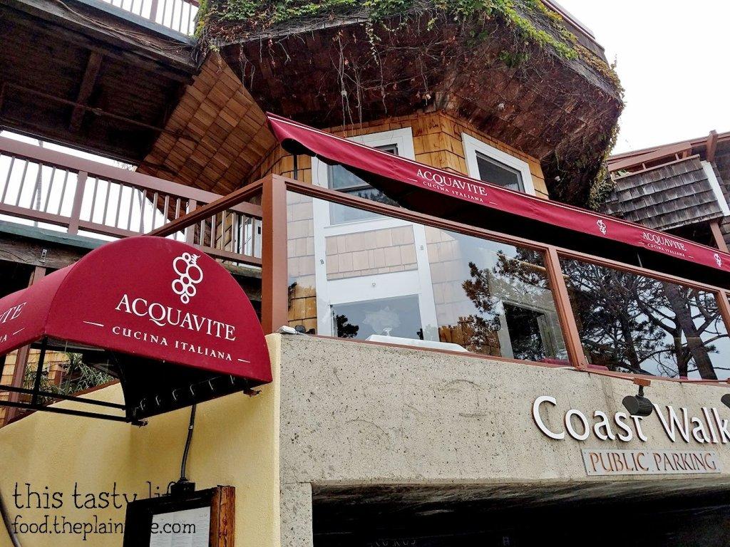 Acquavite Italian Restaurant at La Jolla Cove - San Diego, CA