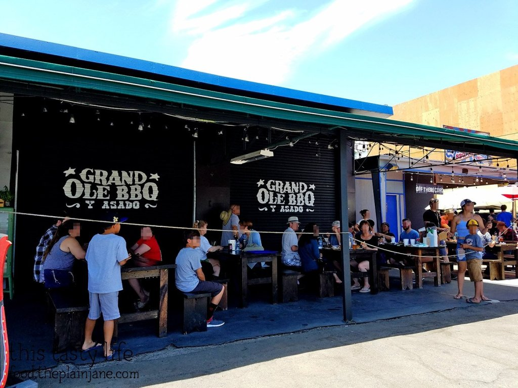 Outdoor Seating at Grand Ole BBQ y Asado | North Park - San Diego, CA