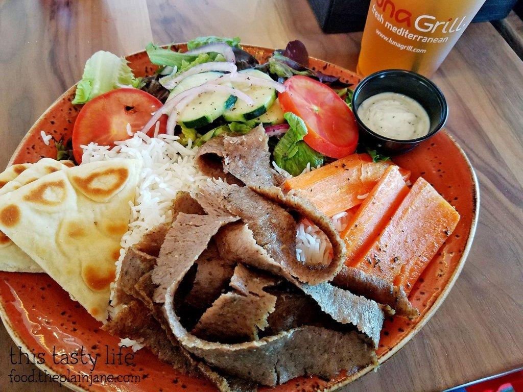 Gyro Plate at Luna Grill - Mira Mesa - San Diego, CA