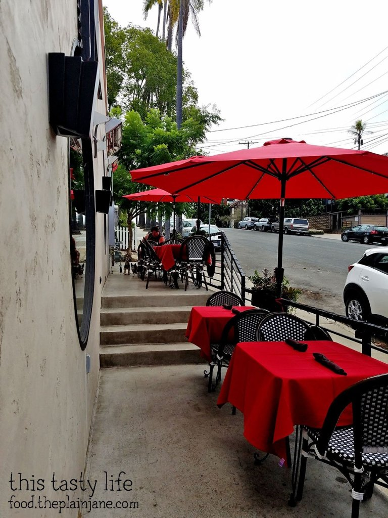 Dog Friendly Patio Seating at Royal Stone | San Diego, CA