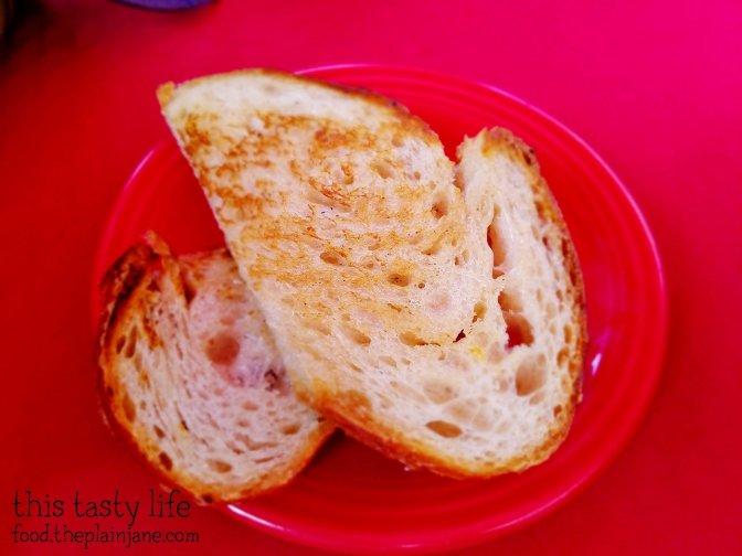 Sourdough Toast at Royal Stone | San Diego, CA