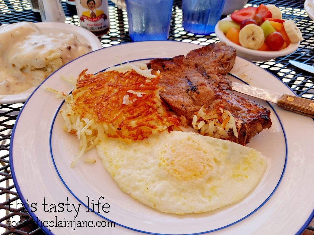 Steak & Eggs - Shirley's Kitchen | La Mesa
