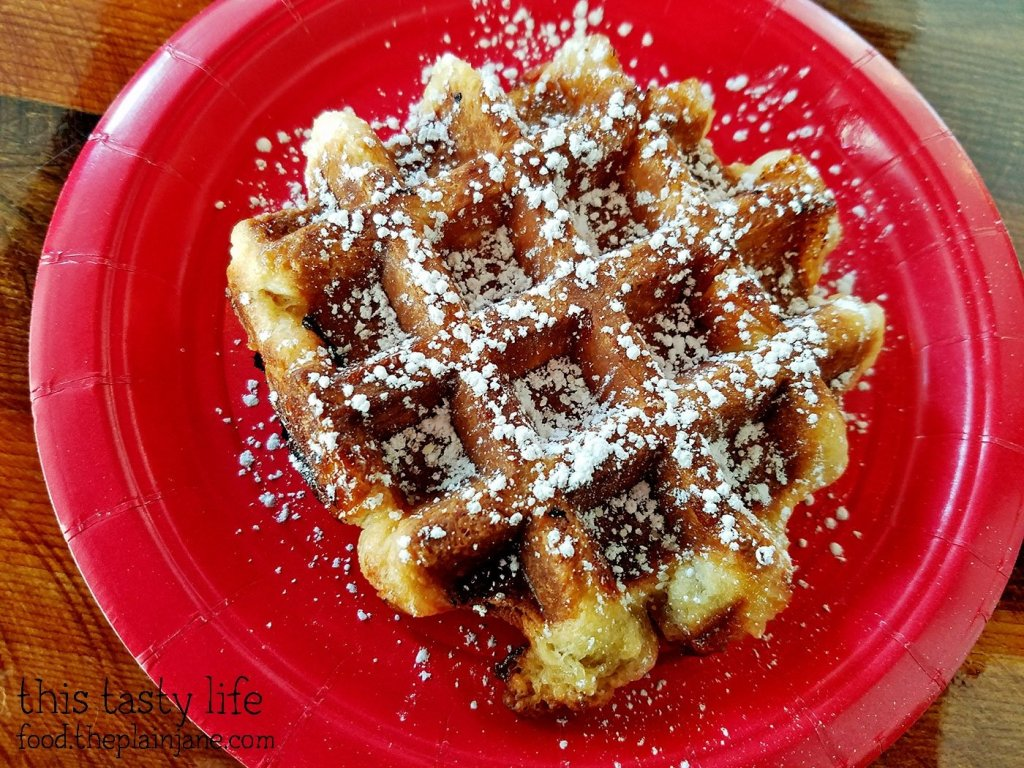 Belgian Waffle - The King's Craft Coffee Co / Poway, CA