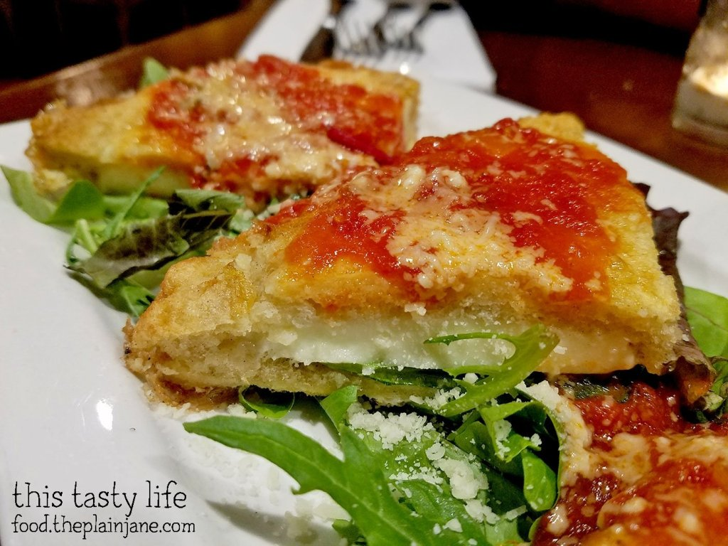 Mozzarella Sandwich Closeup - Pummaro | San Diego, CA