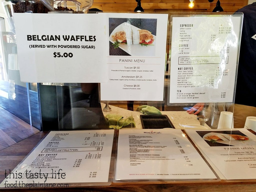 Waffles and Paninis at The King's Craft Coffee Co / Poway, CA